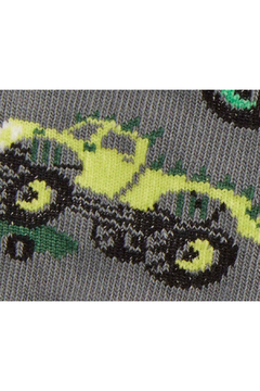 Sock it to me Monster Truck Toddler Knee High Sock - Alternate List Image