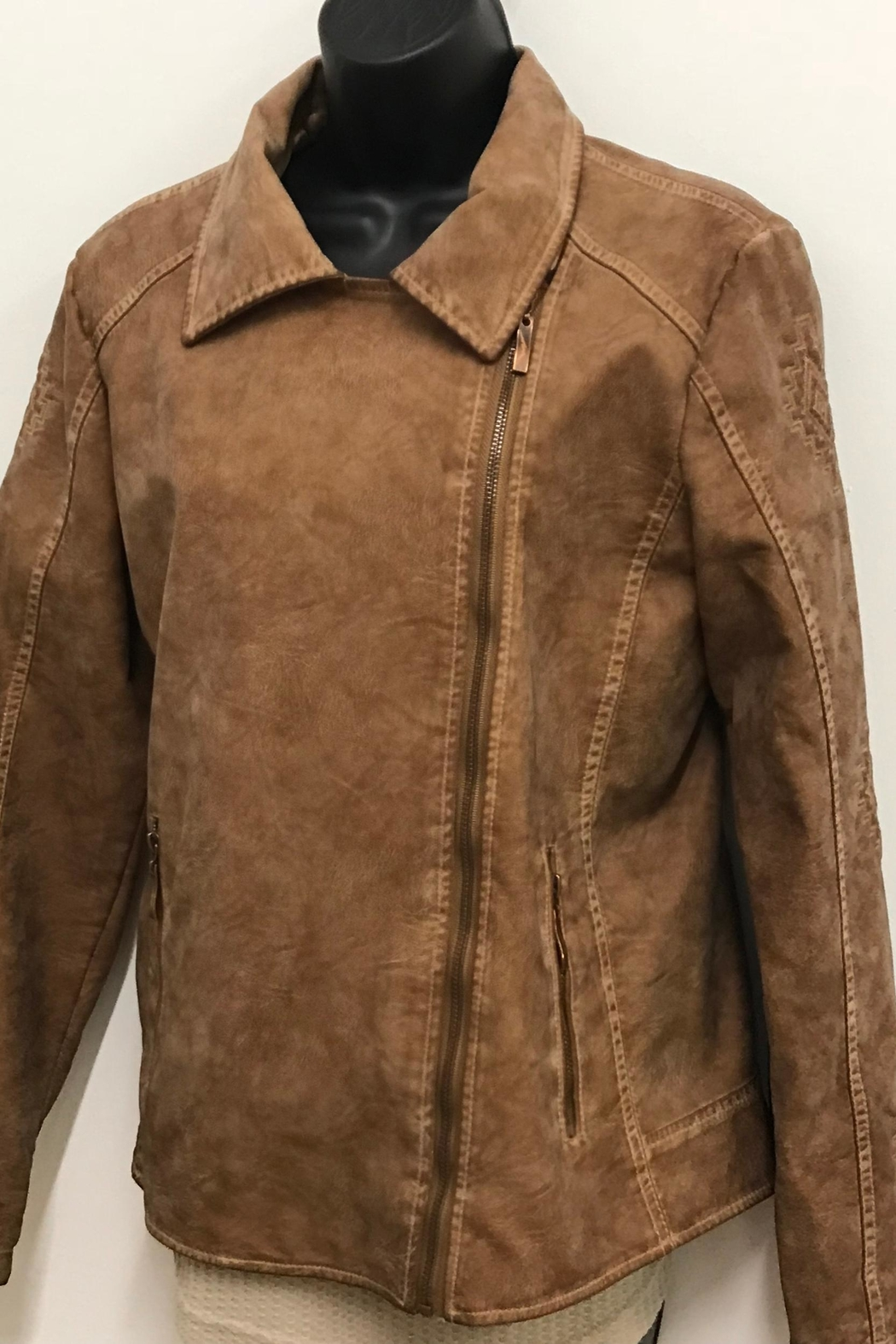 Montanaco Vegan Leather Jacket - Main Image