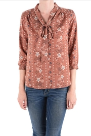Monteau Floral Top - Front cropped
