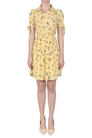 Monteau Tie-On Sleeves Dress - Product Mini Image