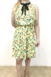 Monteau Yellow Dress - Front cropped