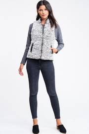 MONTREZ Quilted Reversible Vest - Back cropped