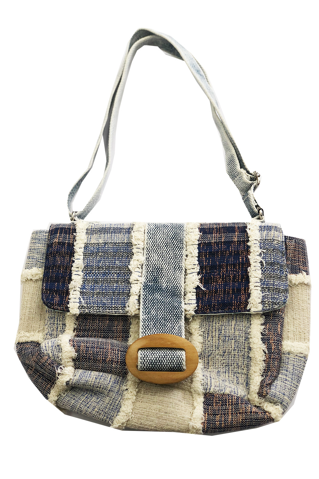 America & Beyond Mood Indigo Crossbody - Main Image