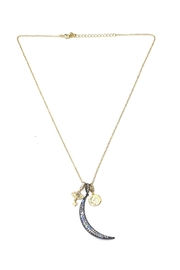 BeJe Moon-And-Star Charm Necklace - Product Mini Image