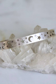 Mesa Blue Moon and Stars Bracelet - Front cropped