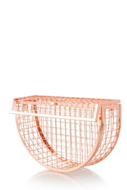 TIMELESS Moon Cage Clutch - Front full body