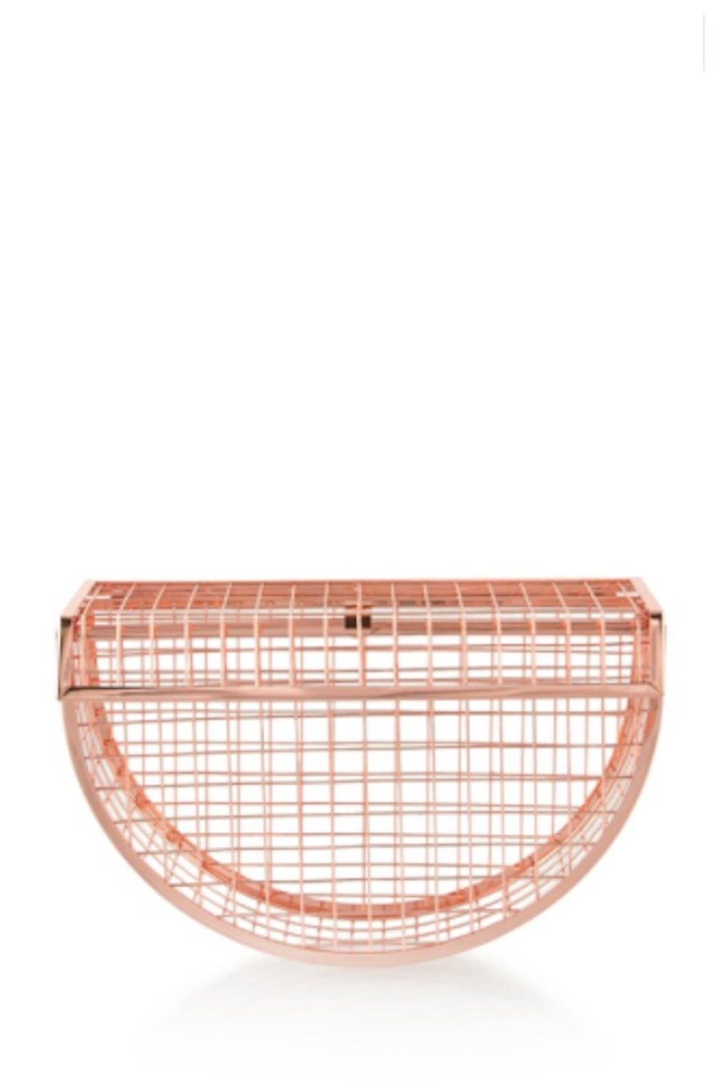 TIMELESS Moon Cage Clutch - Main Image