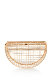 TIMELESS Moon Cage Clutch - Front cropped