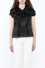 Shoptiques Product: Silky Cap Sleeve Blouse - Side cropped