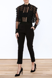Moon Collection Crochet Top Jumpsuit - Product Mini Image