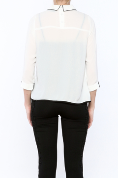 Moon Collection Embellished Collar Blouse - Alternate List Image
