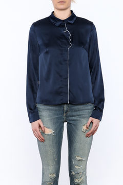 Moon Collection Navy Face Blouse - Alternate List Image