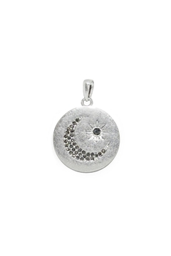 Marlyn Schiff Moon Disc Charm - Product List Image