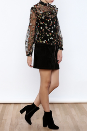 Shoptiques Product: Embroidered Top - Front full body