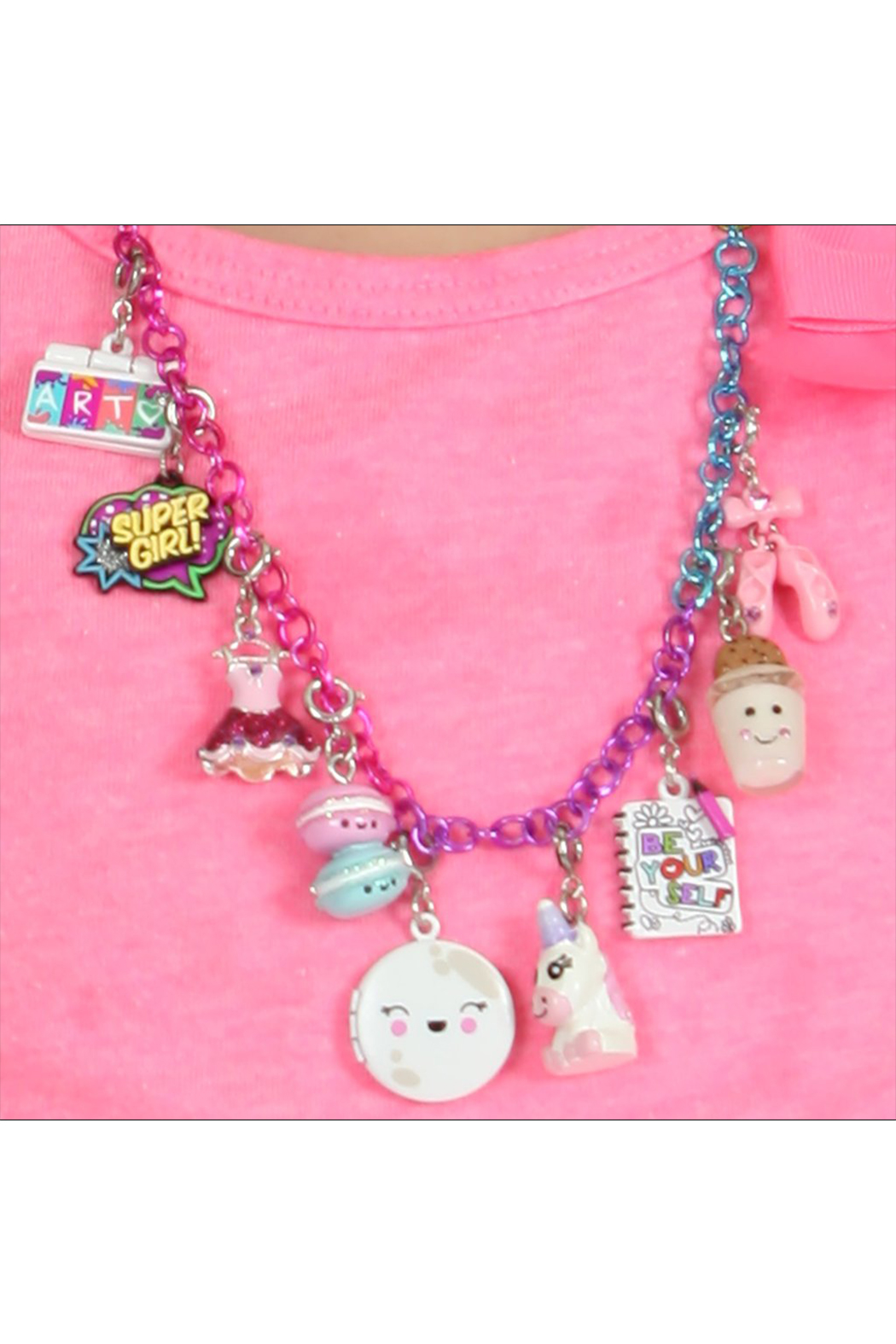 Charm It Moon Locket Charm - Back Cropped Image