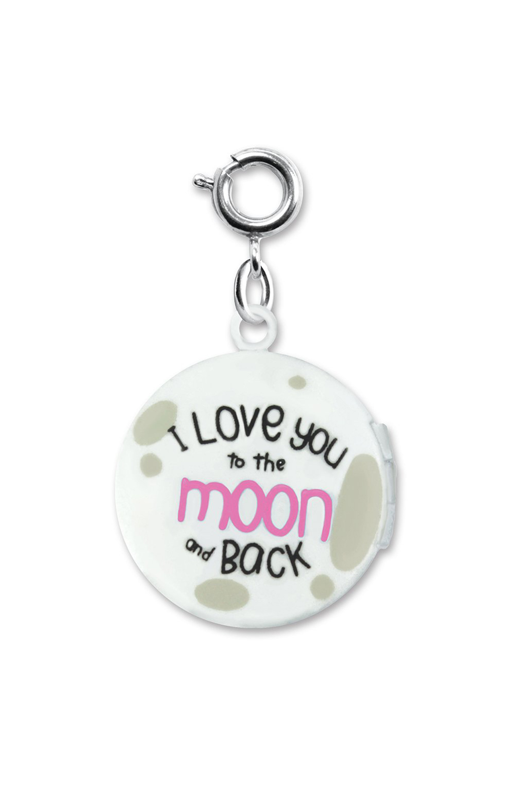 Charm It Moon Locket Charm - Front Full Image
