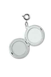 Charm It Moon Locket Charm - Side cropped