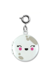 Charm It Moon Locket Charm - Front cropped