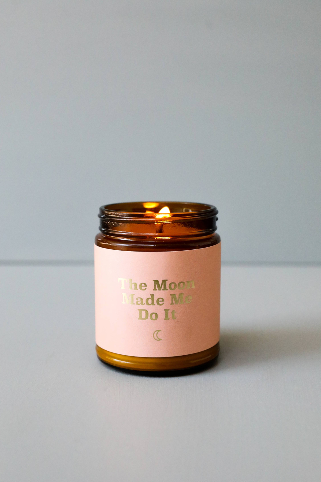 JaxKelly Moon Mantra Candle - Front Full Image