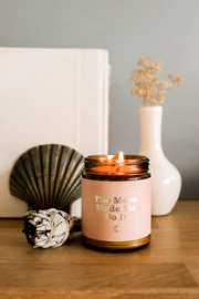 JaxKelly Moon Mantra Candle - Front cropped
