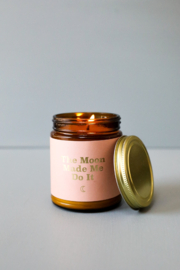 JaxKelly Moon Mantra Candle - Back cropped