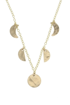 Lotus Jewelry Studio Moon Phases Necklace - Product List Image