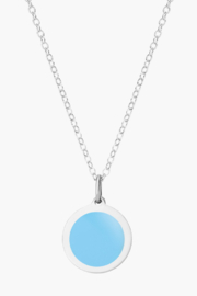 Auburn Jewelry Moon Silver Pendant - Mini - Front cropped