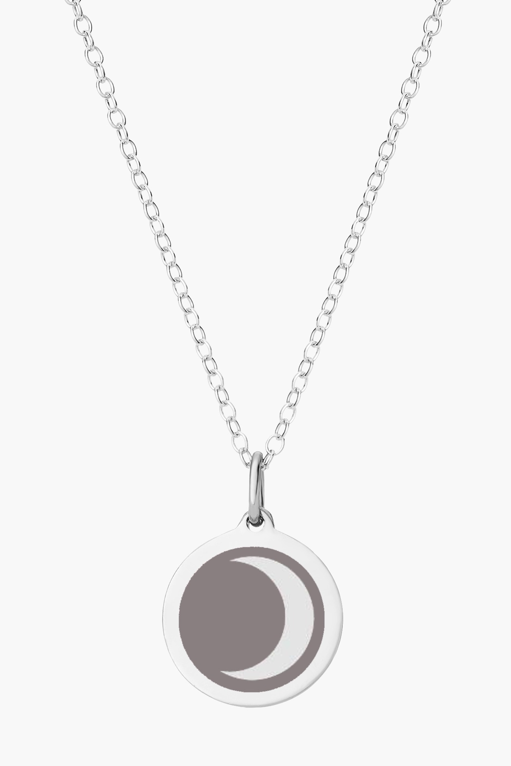 Auburn Jewelry Moon Silver Pendant - Mini - Main Image