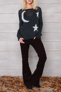 Shoptiques Product: Moon & Stars Crewneck