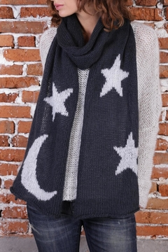 Shoptiques Product: Moon & Stars Scarf