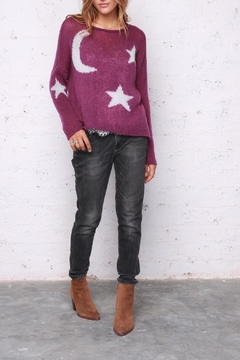 Wooden Ships Moon & Stars Sweater - Product List Image