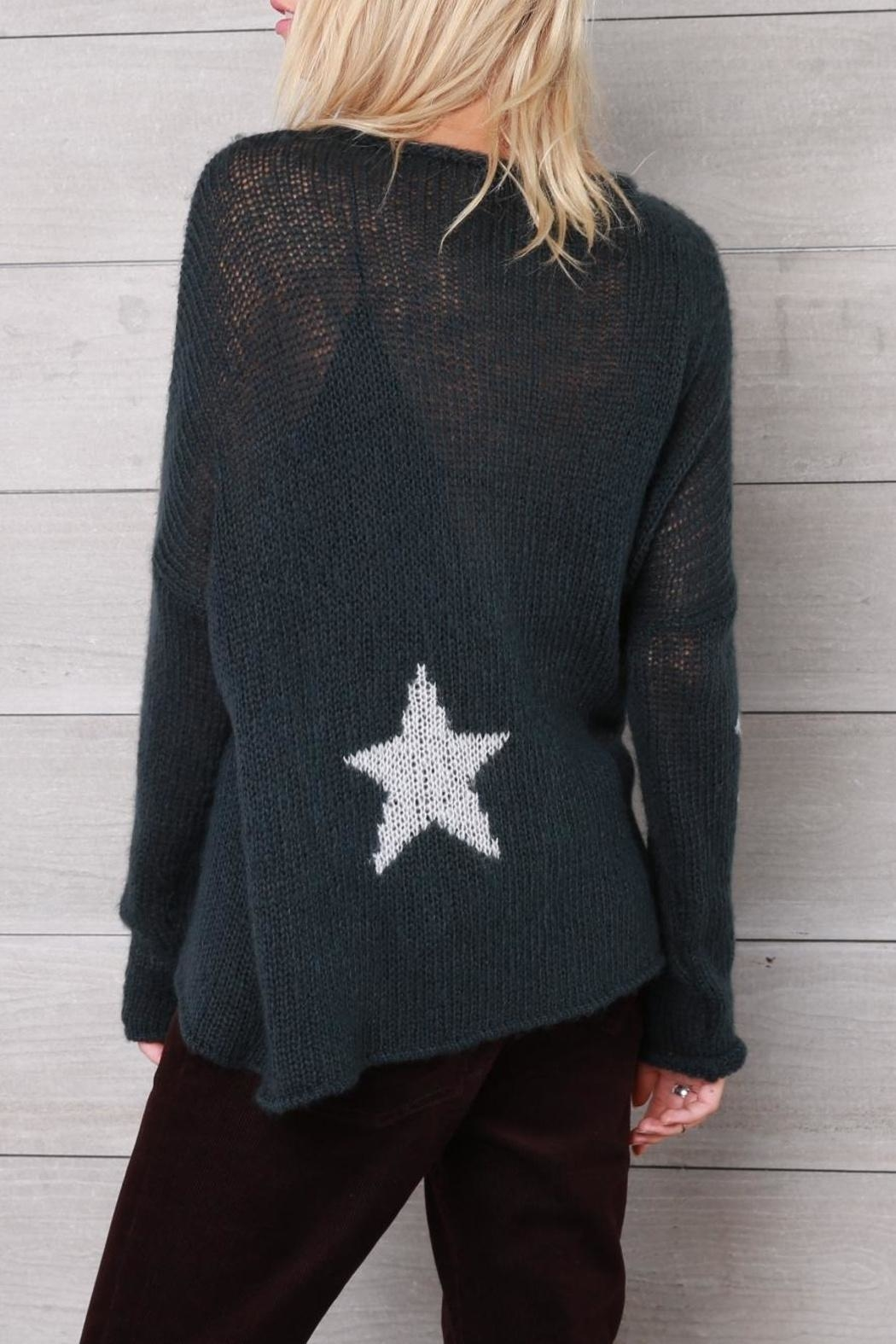 Wooden Ships Moon & Stars Sweater - Side Cropped Image