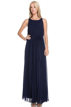 Moon Stunning Navy Dress - Product List Image
