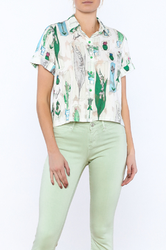 Moon Desert Button Down Top - Product List Image