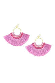 moon & lola Berry Fan Earrings - Product Mini Image