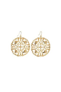 Shoptiques Product: Golden Filigree Earrings