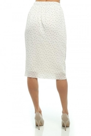 Moon Collection Dainty-Dots Pencil Skirt - Side cropped