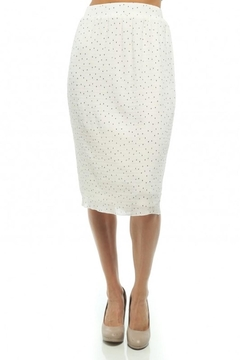 Moon Collection Dainty-Dots Pencil Skirt - Product List Image
