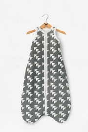 Moon Monsters Geometric Sleeping Bag - Front cropped