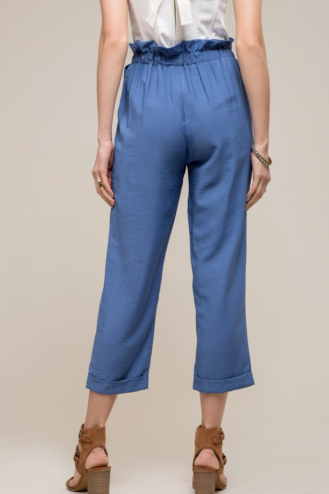 Moon River Alyza Bow Pants - Side Cropped Image