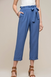 Moon River Alyza Bow Pants - Front cropped