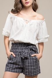 Moon River Amaya Crop Top - Front cropped