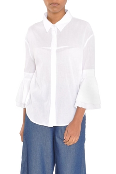 Moon River Bell Sleeve Shirt - Product List Image