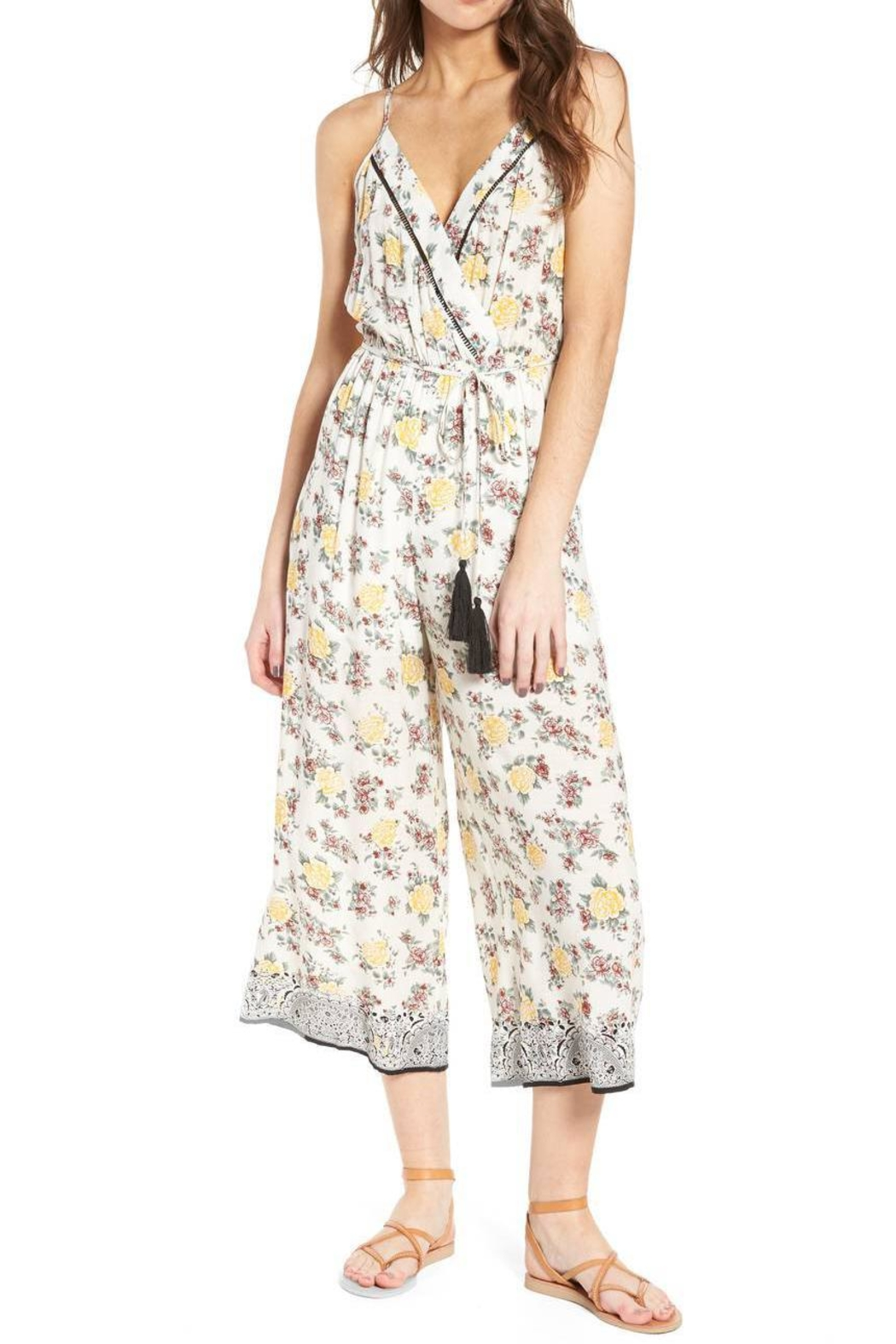 Moon River Canary Jumpsuit - Main Image
