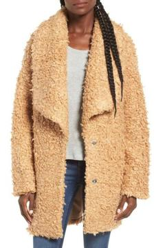Moon River Carmel Boucle Coat - Product List Image
