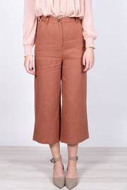 Moon River Cropped Wide-Leg Pants - Side cropped