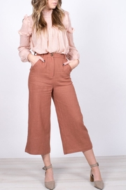 Moon River Cropped Wide-Leg Pants - Product Mini Image