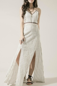 Moon River Embroidered Boho Maxi - Product List Image