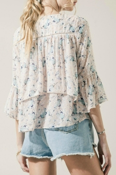 Moon River Layered Floral Top - Alternate List Image