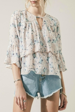 Moon River Layered Floral Top - Product List Image